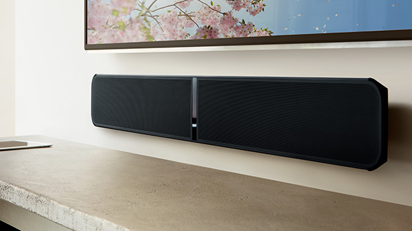 Bluesound Soundbar wall