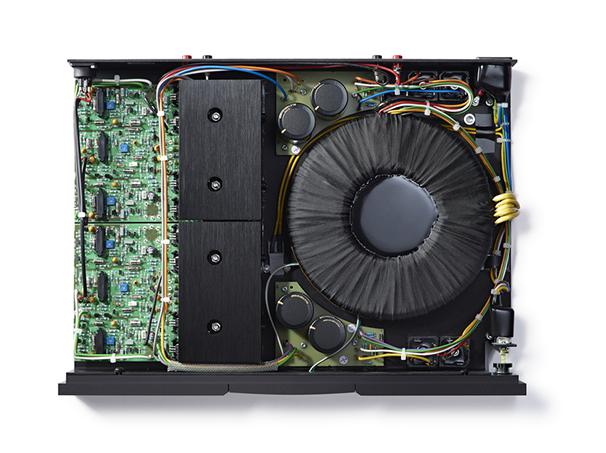 NAP 250DR inside