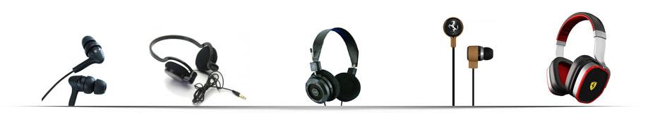 hoofdtelefoons mix