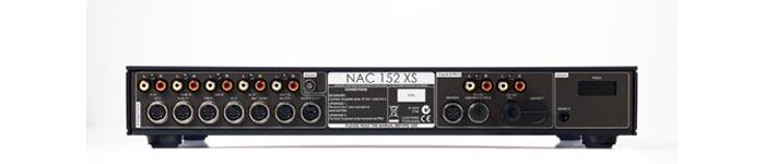 naim nac152xs rear panel